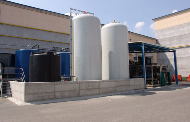Low power consumption evaporators for recovery of oil emulsions