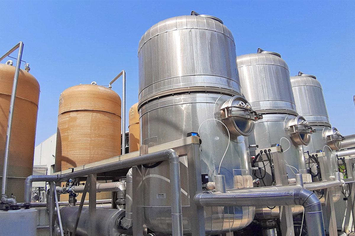 Venza impianto di evaporazione sottovuoto dell'acqua