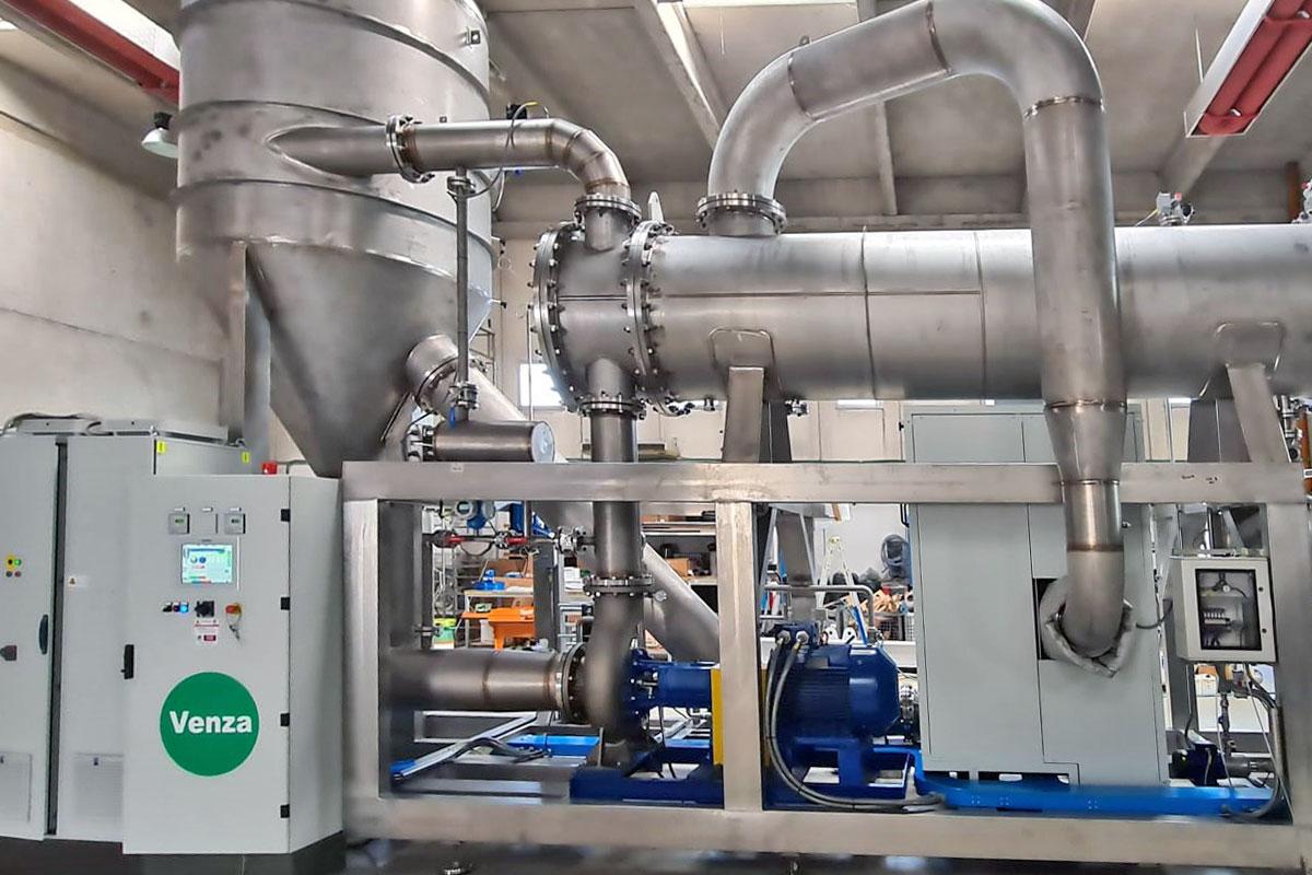 Piattaforme di trattamento dei rifiuti liquidi