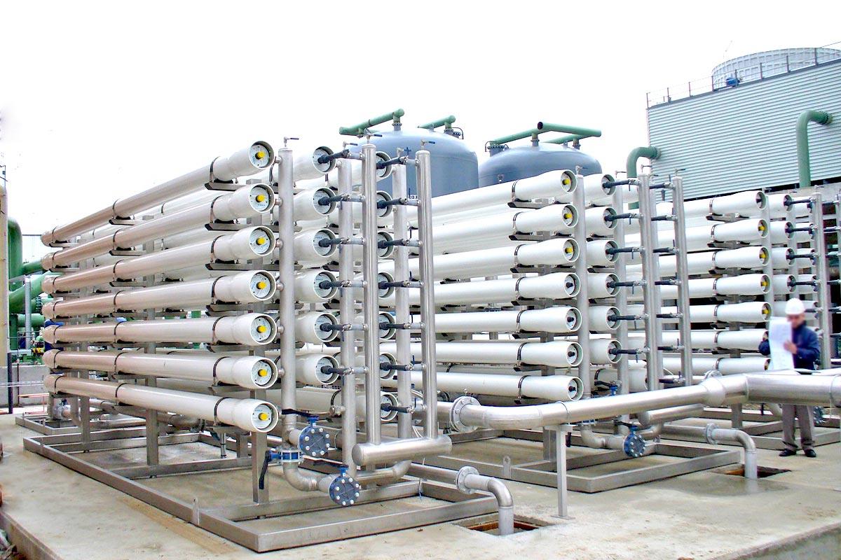 Impianto di filtrazione a membrana_venza
