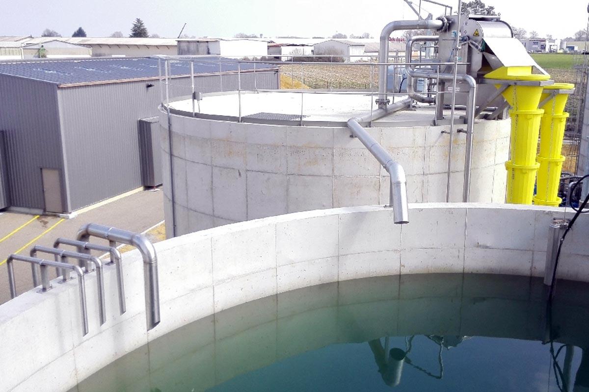 Vasca di trattamento biologico dell'acqua_venza